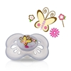 Picture of 12m+ Pastels Pacifier - classic oval baglet