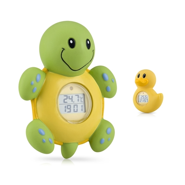 Picture of Bath Time Clock & Thermometer