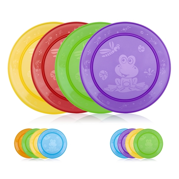 Picture of Fun Feeding™ Round Plate - 4 pack