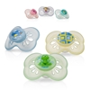 Picture of 12m+ Pastels Pacifier - classic oval baglet - 3 pack