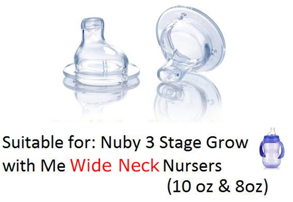 Picture of Non-Drip Wide Neck Spout - 2 pack