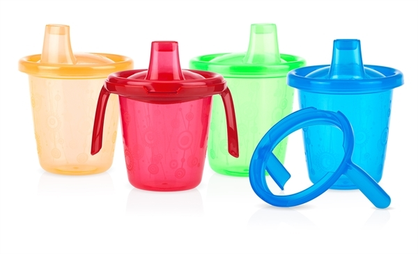 Picture of Wash or Toss™ Stackable Trainer Cups 7oz/210ml - 4 pack