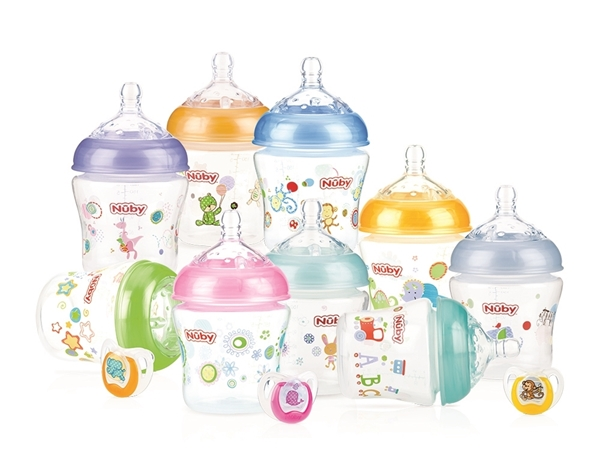 Picture of Infant Bottle 6oz/180ml - 3 pack + Bonus Comfort™ Ortho Pacifier