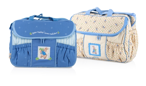 Peter Rabbit Baby Collection Changing Bag Beatrix Potter Nappy Bag